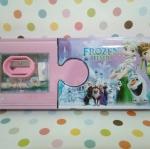 กล่องดินสอเหล็ก โฟรเซ่น เอลซ่า Frozen Elsa ขนาด 21.5*10.5 ซม.