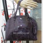 สินค้าพร้อมส่ง » กระเป๋า COACH F32583 GMPLU Peyton Link C Embossed Cora Domed Satchel Bag