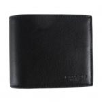 สินค้าพร้อมส่งจาก USA » กระเป๋าสตางค์ COACH F74991 BLK COMPACT ID WALLET IN SPORT CALF LEATHER BLACK