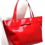 สินค้าพร้อมส่ง » กระเป๋า Kate Spade Sophie WKRU 2471 Camellia Street Chilired (647) tote shopper bag สีแดง