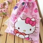 กระเป๋าถุงหูรูด ฮัลโหลคิตตี้ Hello kitty#2 ขนาดยาว 29.5 ซม. * สูง 32.5 ซม.