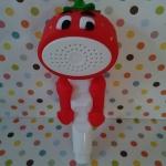 ฝักบัวอาบน้ำเด็ก ลายสตรอเบอรี่สีแดง น่ารักๆจ้า
