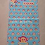 ผ้าเช็ดตัวผืนใหญ่ ลายลิงปากกว้าง ขนาด 140*70 ซม.