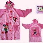 เสื้อกันฝนสำหรับเด็ก มินนี่เม้าส์ Minnie Mouse size S , M , L , XL