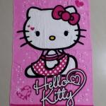 ผ้าเช็ดตัวขนหนู ฮัลโหลคิตตี้ Hello kitty ขนาด 125 ซม. * 65 ซม.