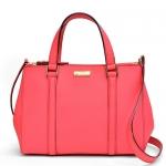 สินค้าพร้อมส่ง » กระเป๋า Kate Spade WKRU2462 Small Loden Newbury Lane Coral crossbody handbag