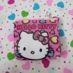 กระเป๋าใส่เศษสตางศ์ใบเล็ก คิตตี้ kitty-2 ขนาดยาว 11 ซม. x สูง 9 ซม. ด้านบนมีช่องซิป 1 ช่อง