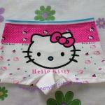 กางเกงชั้นในเด็กแบบขาสั้น ฮัลโหลคิตตี้ Hello kitty#13 size S สำหรับเด็กอายุ 2-4 ขวบ