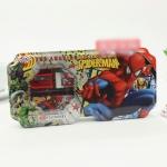 กล่องดินสอเหล็ก สไปเดอร์แมน Spiderman ขนาด 21.5*10.5 ซม.
