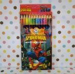 ดินสอสีไม้ 12 สี สไปเดอร์แมน Spiderman