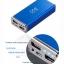 แบตสำรอง powerbank plus one smart 6500mah แบตลิเทียม-โพลิเมอร์ สีน้ำเงิืน thumbnail 2
