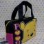 กระเป๋าถือหูหิ้วทรงสี่เหลี่ยม กระเป๋าเอนกประสงศ์ ขนาดกว้าง 8 ซม. * ยาว 20 ซม. * สูง 14 ซม. พิมพ์ลายหมีพูห์ pooh thumbnail 4