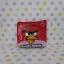กระเป๋าใส่เศษสตางศ์ใบเล็ก แองกี้เบิร์ด angry bird สีแดง thumbnail 1