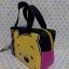 กระเป๋าถือหูหิ้วทรงสี่เหลี่ยม กระเป๋าเอนกประสงศ์ ขนาดกว้าง 8 ซม. * ยาว 20 ซม. * สูง 14 ซม. พิมพ์ลายหมีพูห์ pooh thumbnail 5