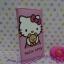 กระเป๋าสตางศ์ใบยาว ฮัลโหลคิตตี้ Hello kitty#15 ขนาด 7.5 นิ้ว x 4 นิ้ว ลายคิตตี้หมี พื้นสีชมพูอ่อน ซิปรอบ thumbnail 4