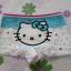 กางเกงชั้นในเด็กแบบขาสั้น ฮัลโหลคิตตี้ Hello kitty#12 size S สำหรับเด็กอายุ 2-4 ขวบ thumbnail 1
