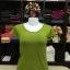 """เสื้อยืดคอกลม สีเขียวไพร size """"M"""" thumbnail 1"""