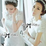 Lady Paula Sweet Chic Flowery White Dress